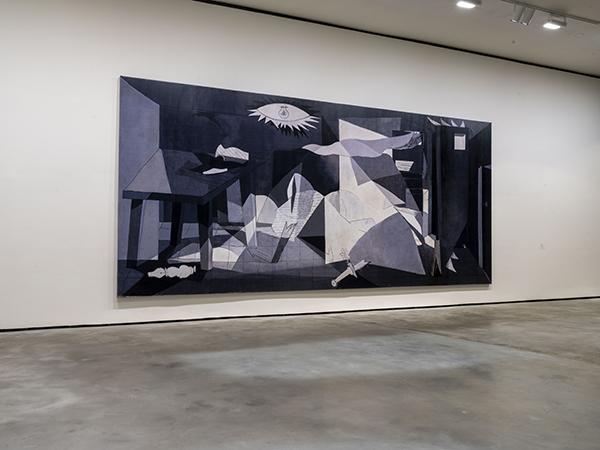 """Obra """"En torno al Guernica"""", de José Manuel Ballester"""